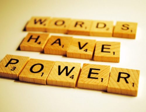 Our words affect our energy….